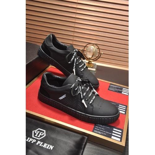 Philipp Plein PP Casual Shoes For Men #814633 $80.00, Wholesale Replica Philipp Plein Shoes