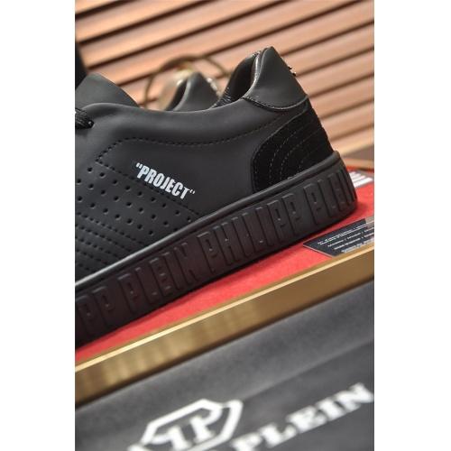 Replica Philipp Plein PP Casual Shoes For Men #814633 $80.00 USD for Wholesale