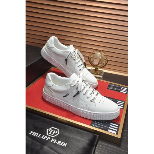 Philipp Plein PP Casual Shoes For Men #814634 $80.00 USD, Wholesale Replica Philipp Plein Shoes
