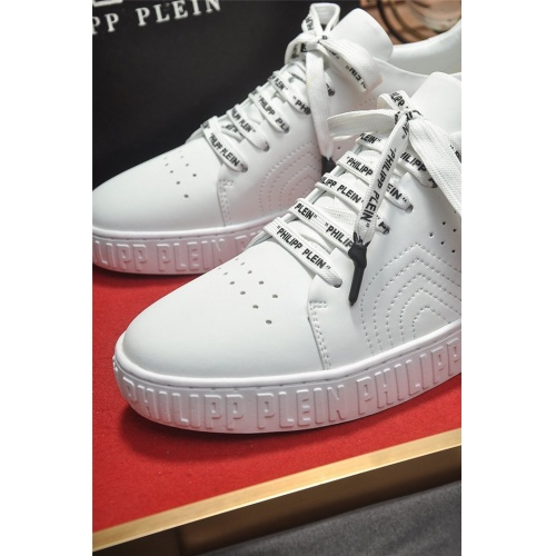 Replica Philipp Plein PP Casual Shoes For Men #814634 $80.00 USD for Wholesale