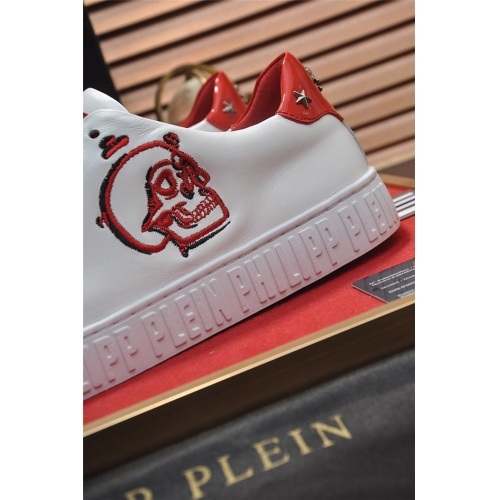 Replica Philipp Plein PP Casual Shoes For Men #814636 $80.00 USD for Wholesale