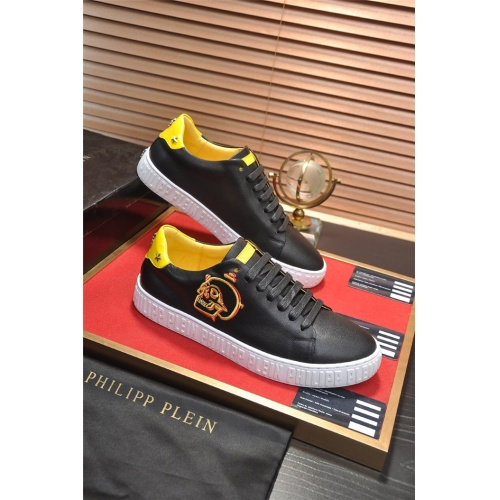 Philipp Plein PP Casual Shoes For Men #814637 $80.00 USD, Wholesale Replica Philipp Plein Shoes