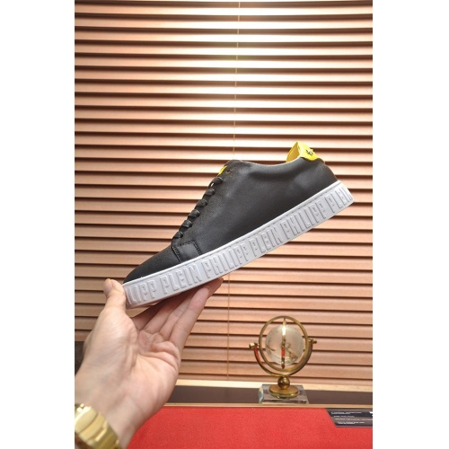 Replica Philipp Plein PP Casual Shoes For Men #814637 $80.00 USD for Wholesale