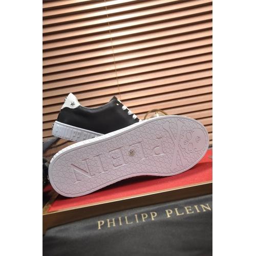 Replica Philipp Plein PP Casual Shoes For Men #814638 $80.00 USD for Wholesale