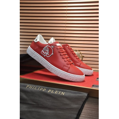 Replica Philipp Plein PP Casual Shoes For Men #814639 $80.00 USD for Wholesale