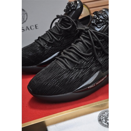 Replica Versace Casual Shoes For Men #814642 $82.00 USD for Wholesale