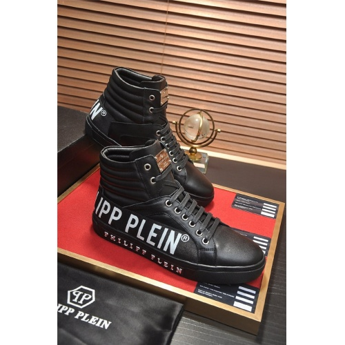 Philipp Plein PP High Tops Shoes For Men #814655