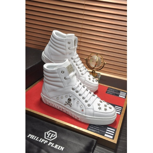 Philipp Plein PP High Tops Shoes For Men #814656