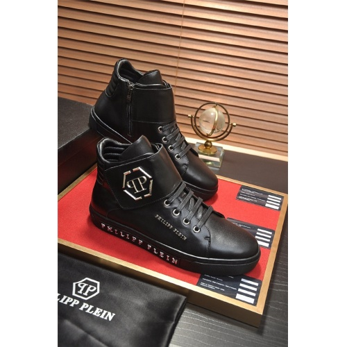 Philipp Plein PP High Tops Shoes For Men #814658