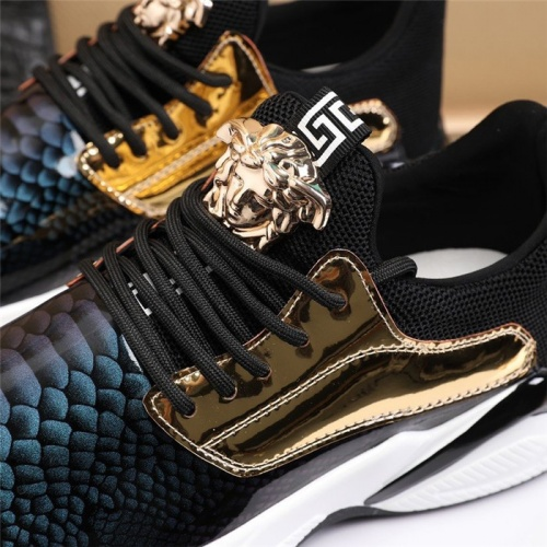 Replica Versace Casual Shoes For Men #814663 $82.00 USD for Wholesale