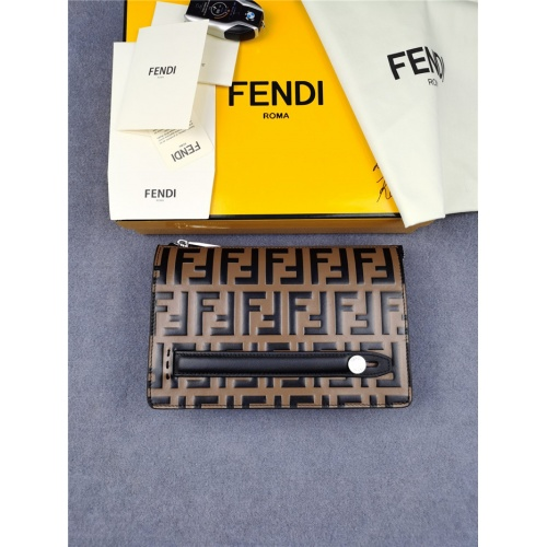 Fendi AAA Man Wallets #814723
