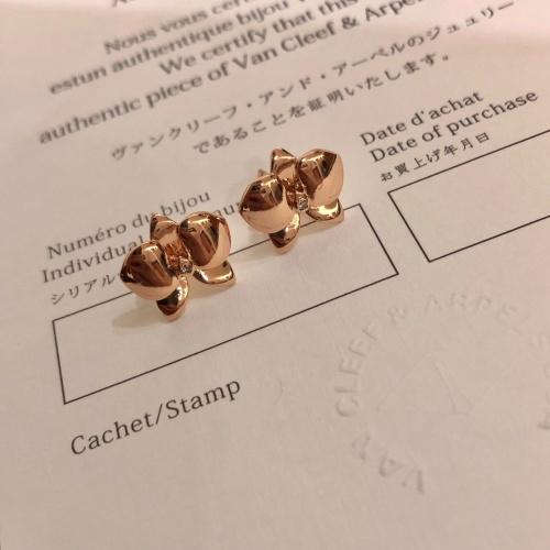 Van Cleef & Arpels Earrings #814790 $29.00 USD, Wholesale Replica Van Cleef & Arpels Earrings