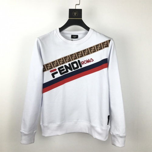Fendi Hoodies Long Sleeved O-Neck For Men #814833