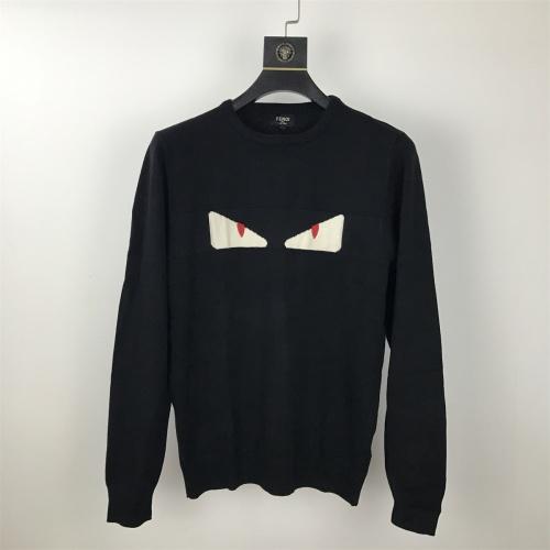 Fendi Sweaters Long Sleeved O-Neck For Men #814848