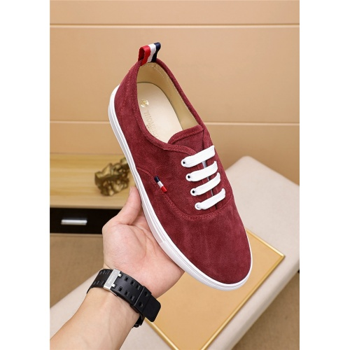Replica Thom Browne TB Casual Shoes For Men #814927 $72.00 USD for Wholesale