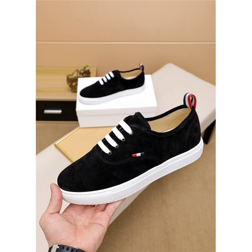 Thom Browne TB Casual Shoes For Men #814928 $72.00 USD, Wholesale Replica Thom Browne TB Casual Shoes