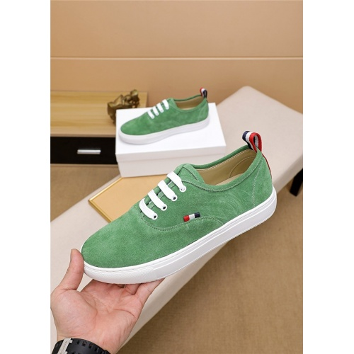 Thom Browne TB Casual Shoes For Men #814929 $72.00 USD, Wholesale Replica Thom Browne TB Casual Shoes