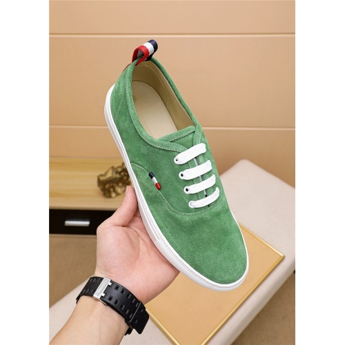 Replica Thom Browne TB Casual Shoes For Men #814929 $72.00 USD for Wholesale