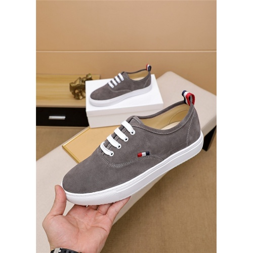 Thom Browne TB Casual Shoes For Men #814930 $72.00 USD, Wholesale Replica Thom Browne TB Casual Shoes