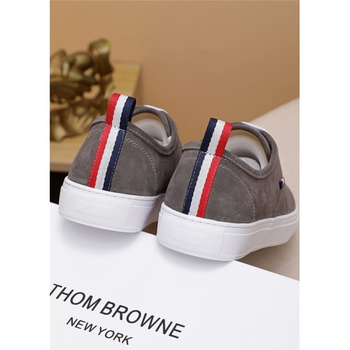 Replica Thom Browne TB Casual Shoes For Men #814930 $72.00 USD for Wholesale