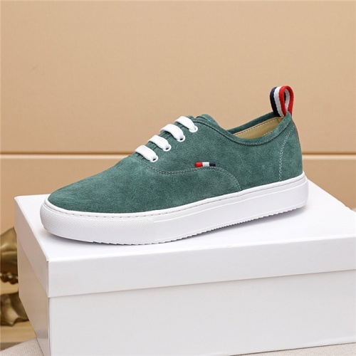 Replica Thom Browne TB Casual Shoes For Men #814931 $72.00 USD for Wholesale