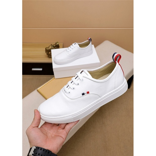 Thom Browne TB Casual Shoes For Men #814935 $72.00 USD, Wholesale Replica Thom Browne TB Casual Shoes