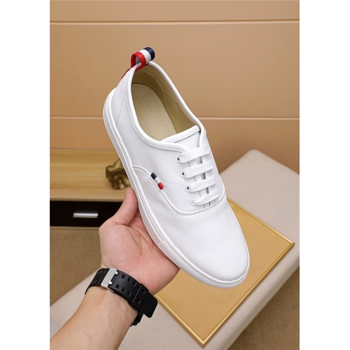 Replica Thom Browne TB Casual Shoes For Men #814935 $72.00 USD for Wholesale
