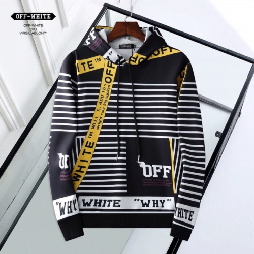 Off-White Hoodies Long Sleeved Hat For Men #814973 $38.00 USD, Wholesale Replica Off-White Hoodies