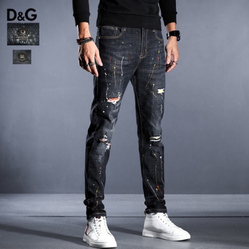 Dolce & Gabbana D&G Jeans Trousers For Men #814989