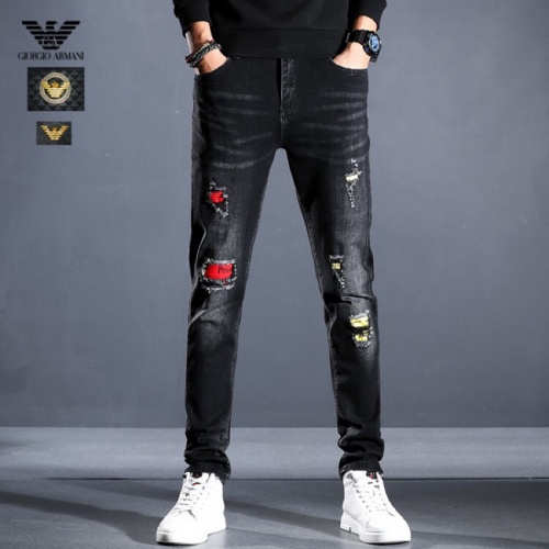 Armani Jeans Trousers For Men #814991