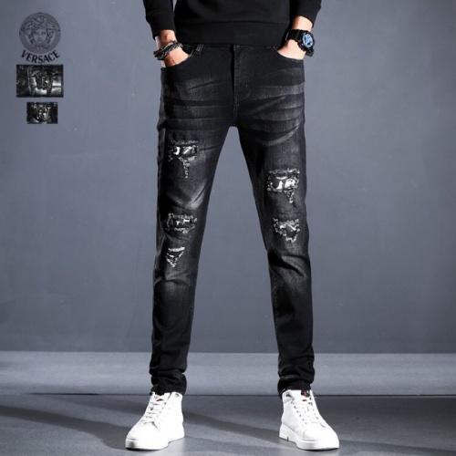 Versace Jeans Trousers For Men #814992 $45.00 USD, Wholesale Replica Versace Jeans