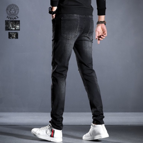Replica Versace Jeans Trousers For Men #814992 $45.00 USD for Wholesale