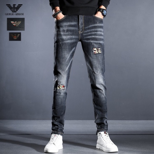 Armani Jeans Trousers For Men #814996