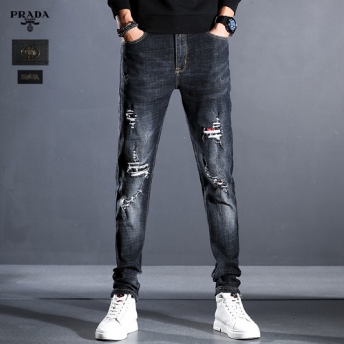 Prada Jeans Trousers For Men #814999