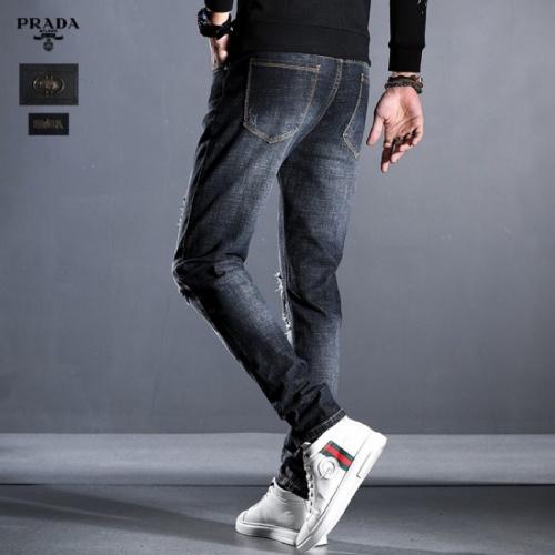 Replica Prada Jeans Trousers For Men #814999 $45.00 USD for Wholesale