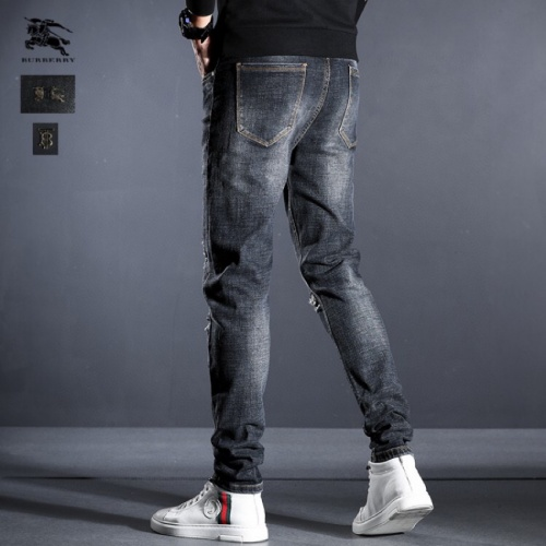 Replica Burberry Jeans Trousers For Men #815000 $45.00 USD for Wholesale