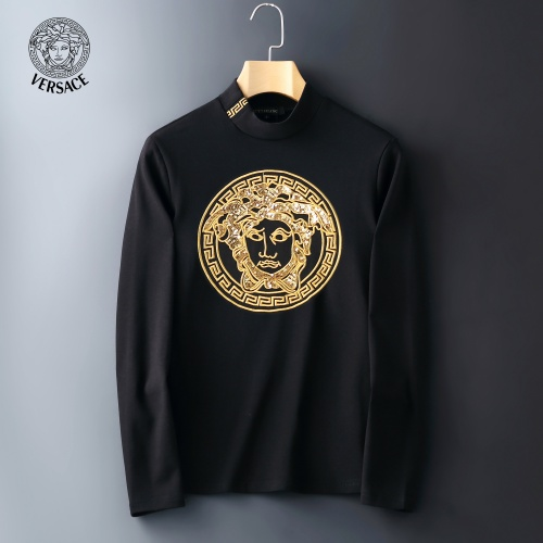 Versace T-Shirts Long Sleeved For Men #815041