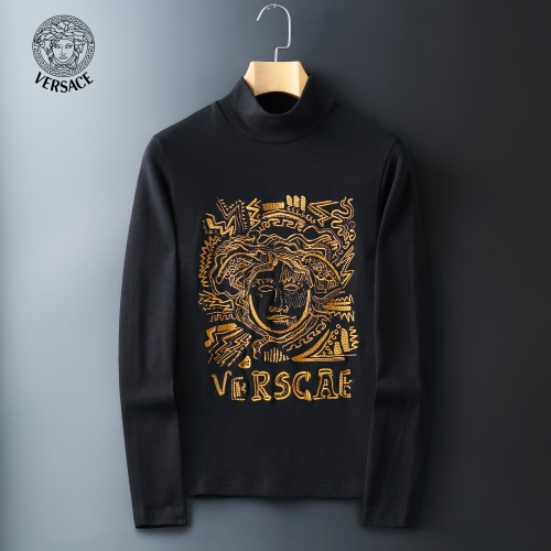 Versace T-Shirts Long Sleeved For Men #815044