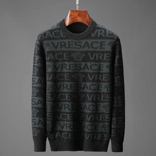 Versace Sweaters Long Sleeved O-Neck For Men #815048