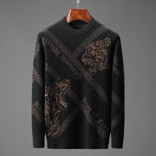 Versace Sweaters Long Sleeved O-Neck For Men #815051