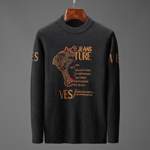 Versace Sweaters Long Sleeved O-Neck For Men #815053