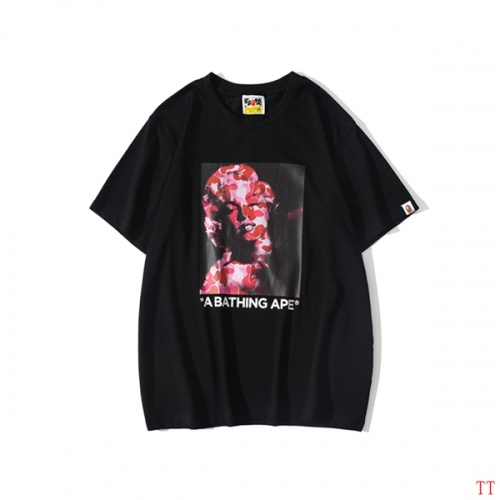 Bape T-Shirts Short Sleeved O-Neck For Men #815067 $25.00 USD, Wholesale Replica Bape T-Shirts