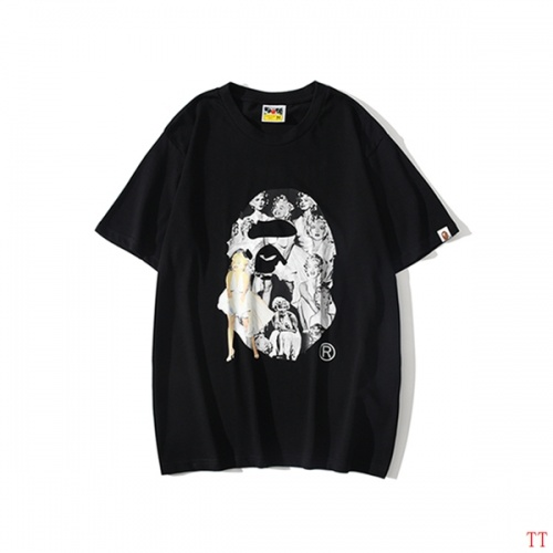 Bape T-Shirts Short Sleeved O-Neck For Men #815068 $25.00 USD, Wholesale Replica Bape T-Shirts
