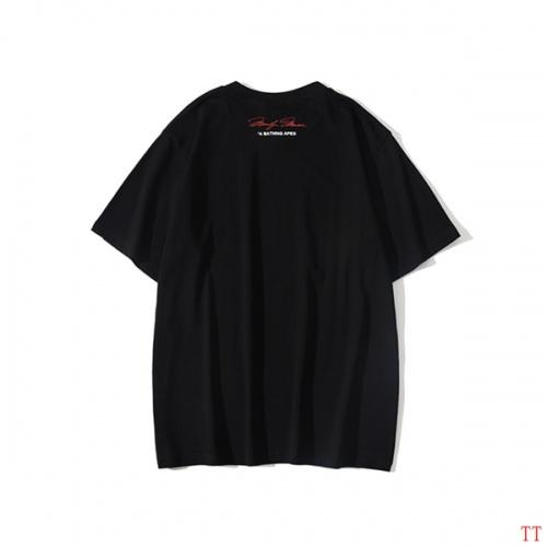 Replica Bape T-Shirts Short Sleeved O-Neck For Men #815068 $25.00 USD for Wholesale