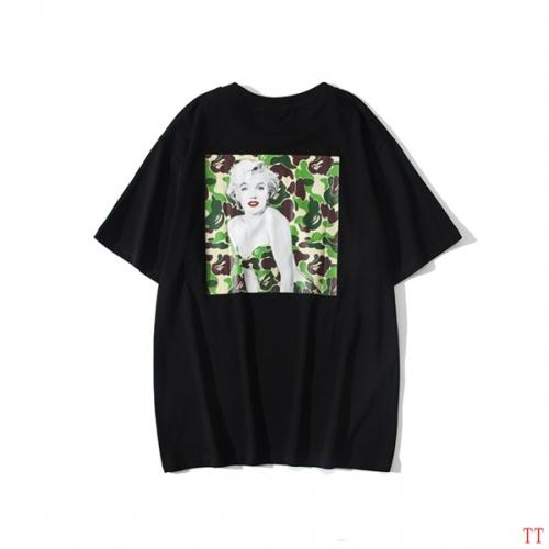 Bape T-Shirts Short Sleeved O-Neck For Men #815073