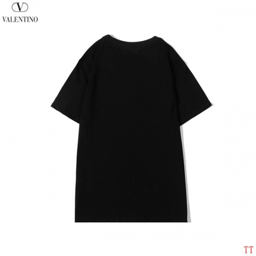 Replica Valentino T-Shirts Short Sleeved O-Neck For Men #815149 $27.00 USD for Wholesale