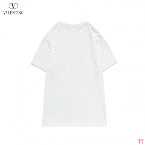 Replica Valentino T-Shirts Short Sleeved O-Neck For Men #815150 $27.00 USD for Wholesale