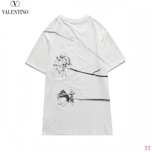 Replica Valentino T-Shirts Short Sleeved O-Neck For Men #815151 $27.00 USD for Wholesale