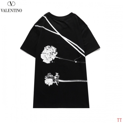 Replica Valentino T-Shirts Short Sleeved O-Neck For Men #815152 $27.00 USD for Wholesale