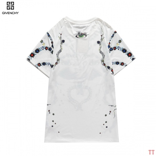 Replica Givenchy T-Shirts Short Sleeved O-Neck For Men #815154 $27.00 USD for Wholesale